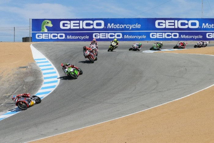 SBK Laguna Seca 2016 – Info, Orari Dirette TV e Streaming