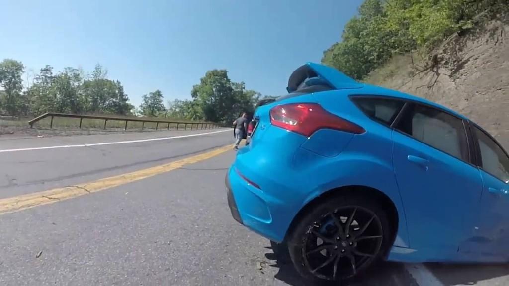 """Ecco a voi il più grande Epic Fail in """"Drift Mode"""" della Focus RS 2016!"""