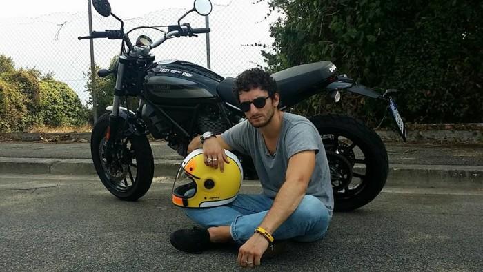 Un Week End Con La Ducati Scrambler Al Rude Ride Roma