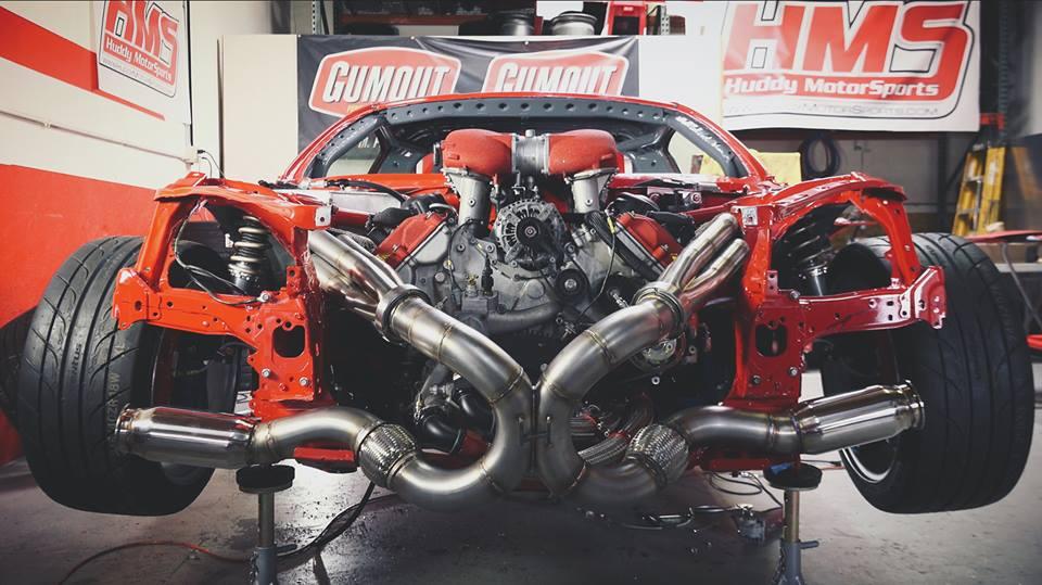 La GT86 con il motore di una Ferrari 458 è finalmente accesa! [VIDEO]