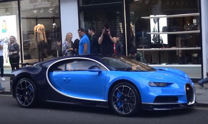 """""""Spottato"""" il primo proprietario di una Bugatti Chiron a Londra"""