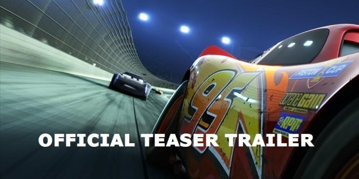 Saetta McQueen è pronto al ritorno! Qui il trailer di Cars 3
