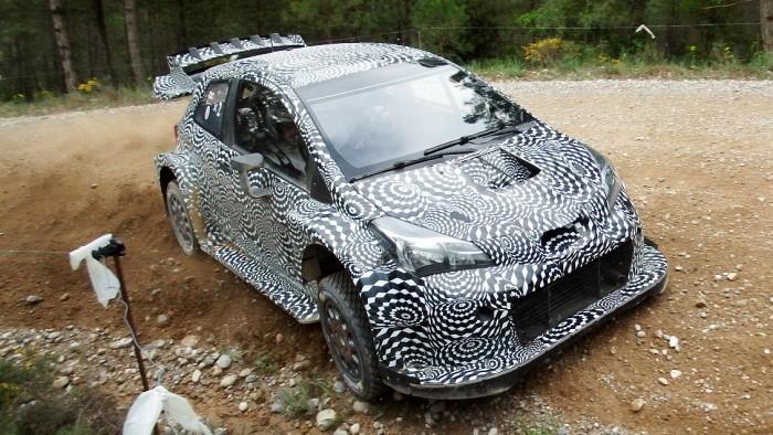 [VIDEO] In Spagna, test per la Toyota Yaris WRC 2017 con Juho Hänninen