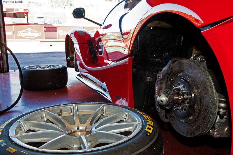 Impianto frenante Ferrari FXX-K Finali Ferrari 2015