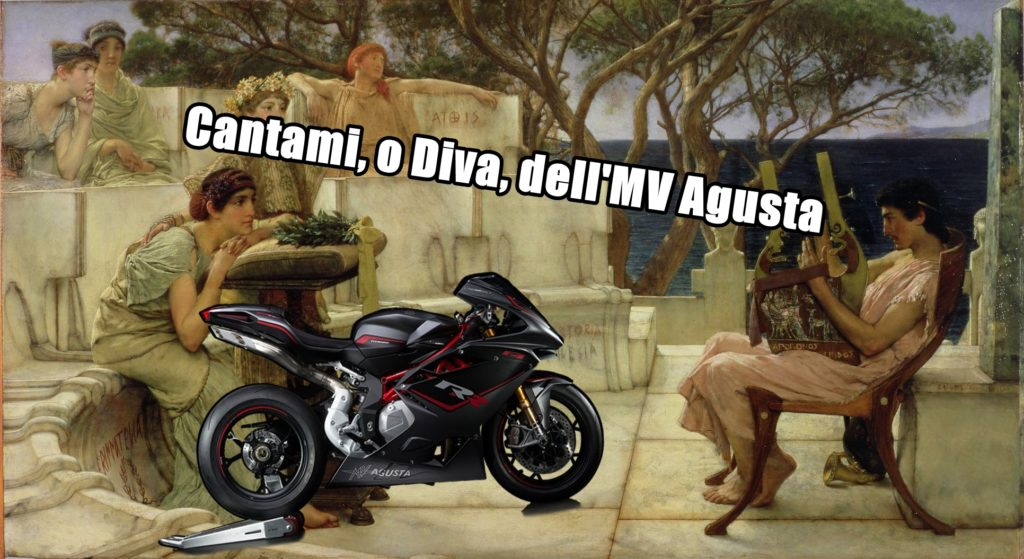 """Cantami o Diva dell'MV Agusta"": le Superbike raccontate per aforismi"