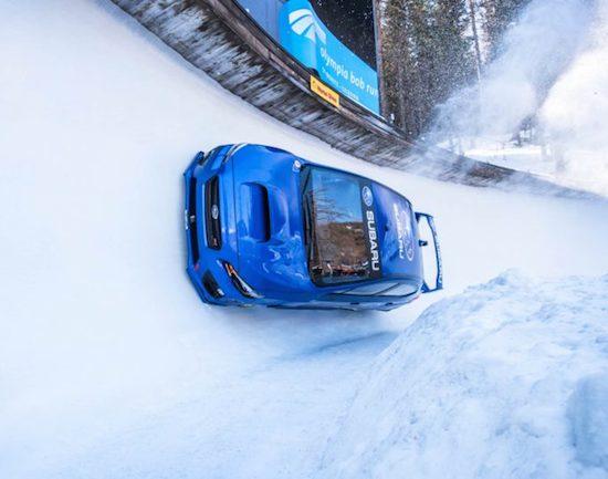 La sfida: la Subaru WRX STI vs una pista olimpica per Bob! [VIDEO]