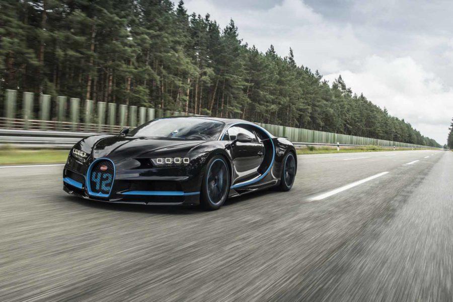 42 secondi: Bugatti Chiron segna il record mondiale per lo 0-400 Km/h!
