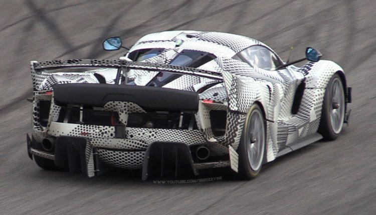 [VIDEO] Ferrari FXX-K Evoluzione a Monza: ancora più estrema e veloce