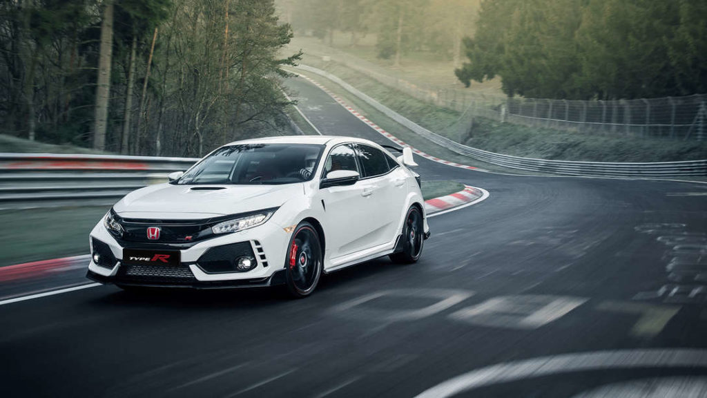 Button e la Civic Type R Time Attack a caccia di nuovi Record!