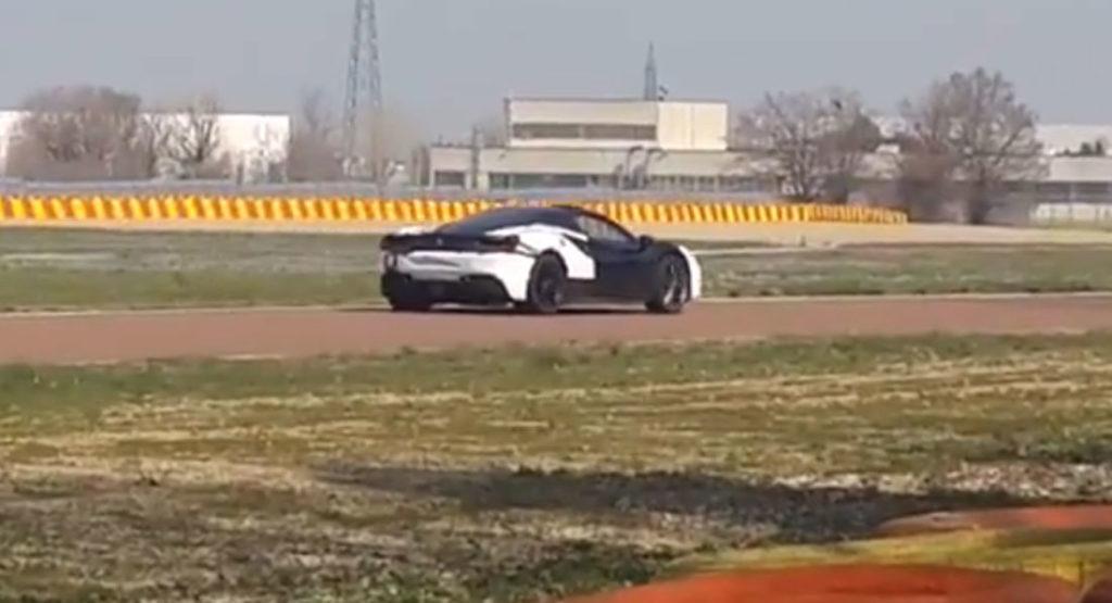 A Fiorano gira la Ferrari 488 GTB Hybrid [VIDEO]