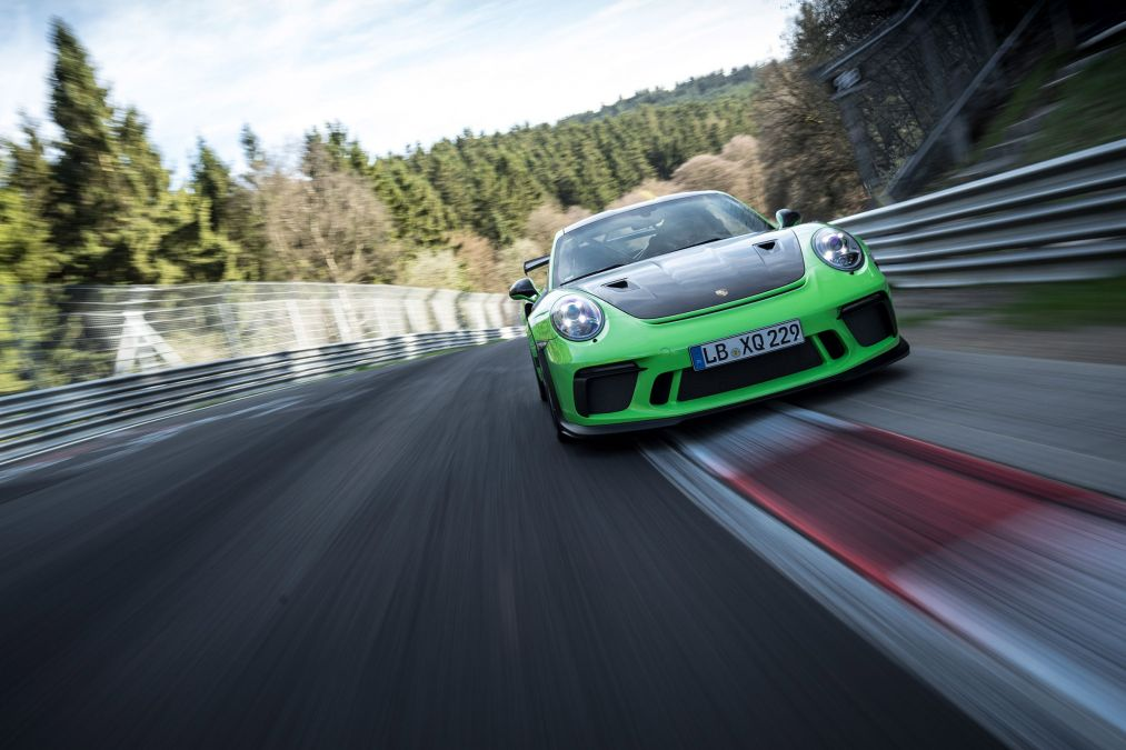 Al Nurburgring la nuova GT3-RS va sotto i 7 minuti! Guarda il VIDEO