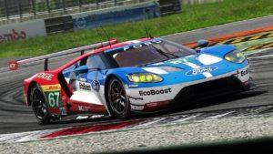 Test WEC Monza - Ford GT GTE ed Aston Martin Vantage GTE