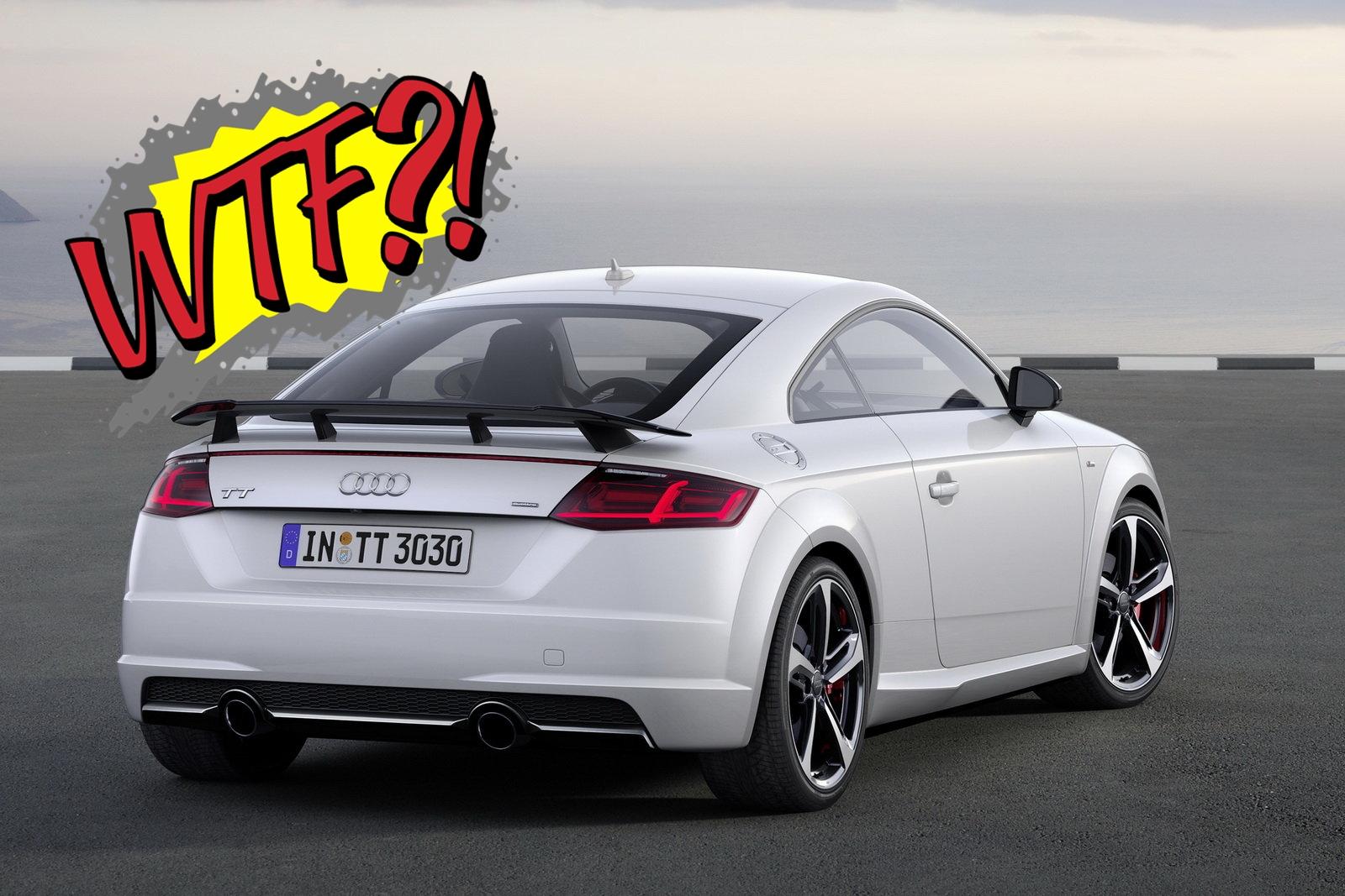 """Audi dice addio alla TT... Arriverà l'ennesima vaccata elettricamente """"emozionante"""""""
